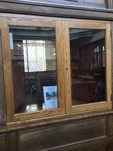 Book of Remembrance location in Bramley Library, Hough Lane