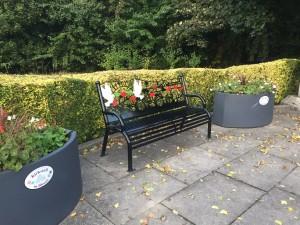 Remembrance Bench at Kirkstall