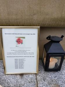 St. George's Day 2018 Dedication.