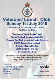 SSAFA Lunch Club